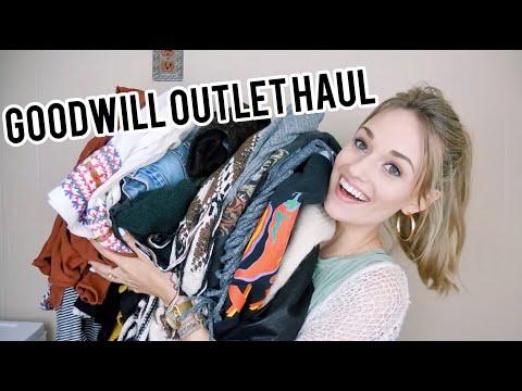 HUGE Goodwill Outlet (Bins) Haul