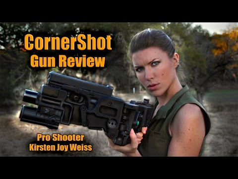CornerShot - Gun Shoots Around Corners?? Pro Shooter Gun Review