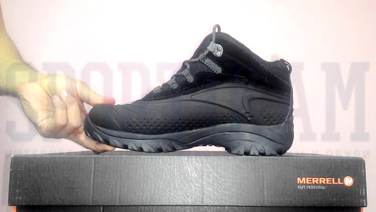 Мужские зимние термо ботинки Adidas Eiscol Mid - YouTube