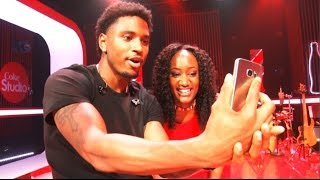 Miss Mandi's facebook LIVE interview with Trey Songz [BTS]