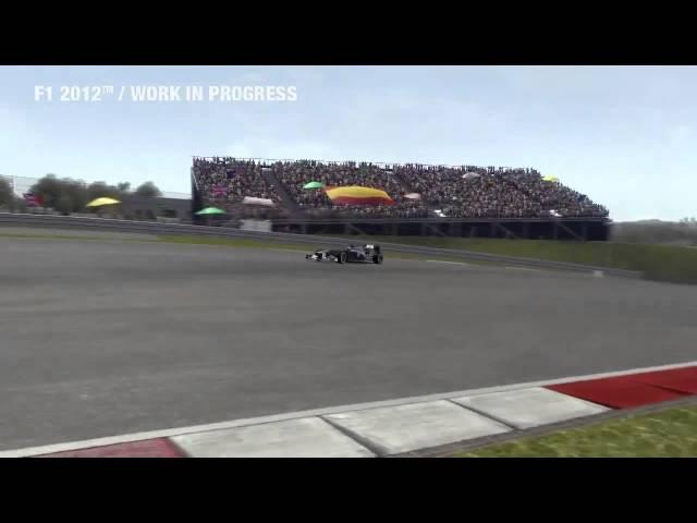 F1 2012 Gameplay Demo - E3 2012