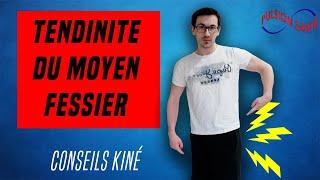 DOULEUR DE HANCHE (TENDINITE DU MOYEN FESSIER)  : CONSEILS ET EXERCICES KINE