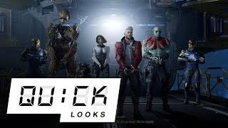 One Hour with Marvel's Guardians of the Galaxy [Quick Look]