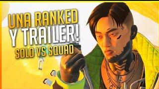 SOLO vs SQUAD en RANQUED al final de la partida. Apex Legends PS4. Plata 1 (I)