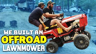 OFFROAD LAWNMOWER CHALLENGE! - Sick Puppy 4x4