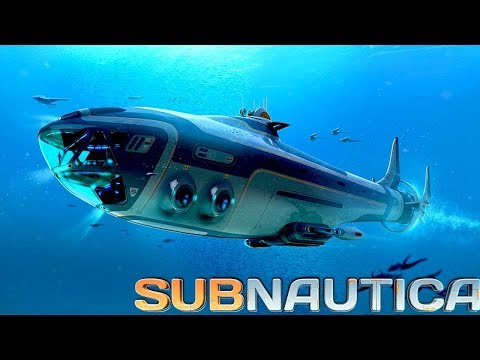 LIVE! - Subnautica - ep.3 - First alien base + Laser ...