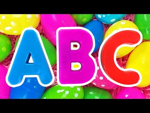 ABC Surprise Eggs #2 | Learn Colors for Children, Teach Preschool Kids the Alphabet by Busy Beavers