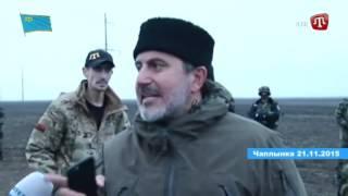 Ukrajinská národní garda zasáhla proti Pravému sektoru, který zničil elektrické vedení na Krym