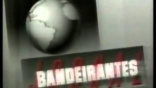 Chamada | Jornal Bandeirantes + Rituais da Vida + Dallas (1989)