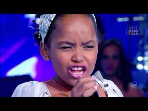 Brazilian´s Got Talent - Performance of Franciele Fernanda - Jovens Talentos Kids 2012