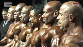 Roelly Winklaar Runner-Up (To Dexter Jackson) @ Arnold Classic Africa 2016