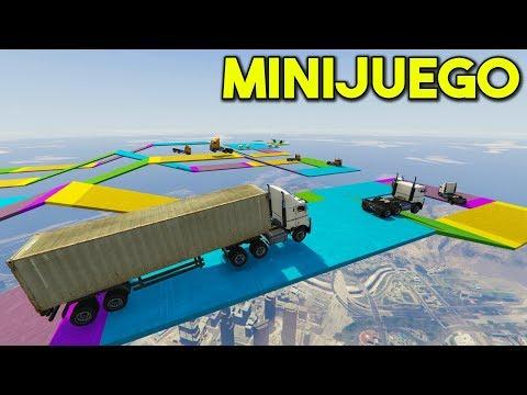 MINIJUEGO! PROTEGE EL CAMIÓN! - GTA 5 ONLINE - GTA V ONLINE