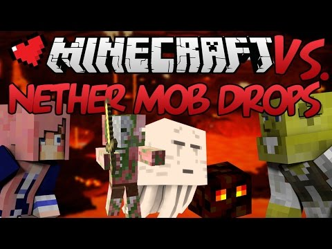 Nether Mob Drops | Minecraft VS. Ep 7