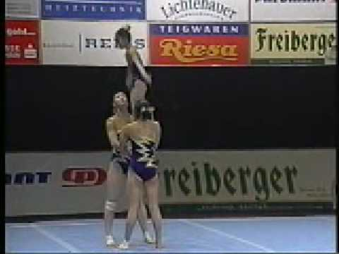 Acrobatic Gymnastics - 2002 Worlds - China - Women group combined (Silver)