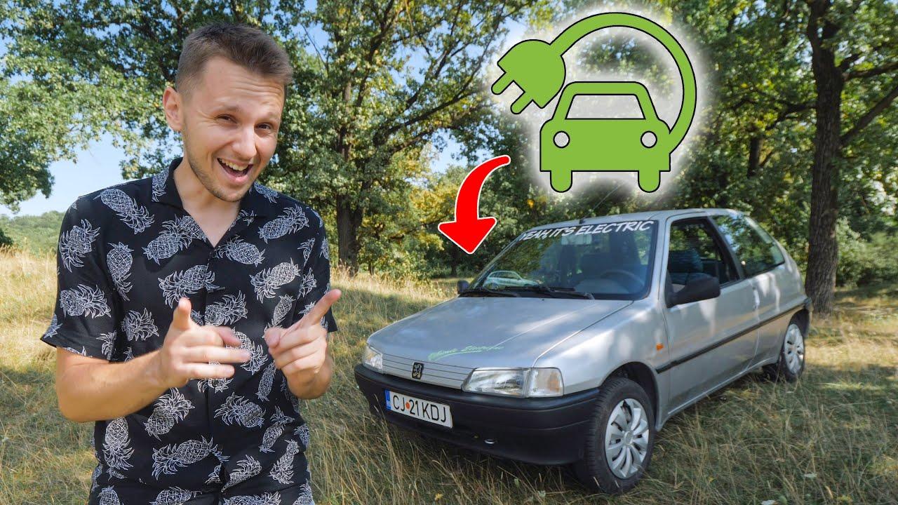 Mașină electrică la 3000 de euro! – Peugeot 106