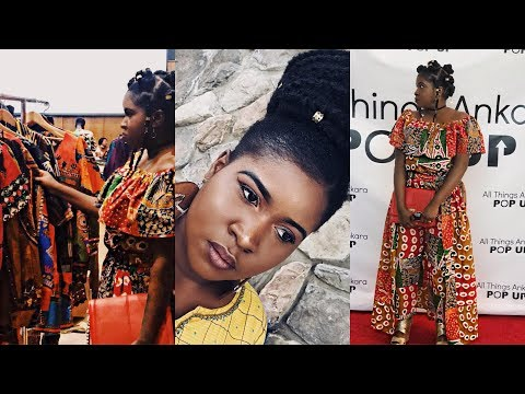 VOLG || SPEND A WEEKEND WITH ME IN MARYLAND|| STYLE AND X ALL THINGS ANKARA POP UP SHOP