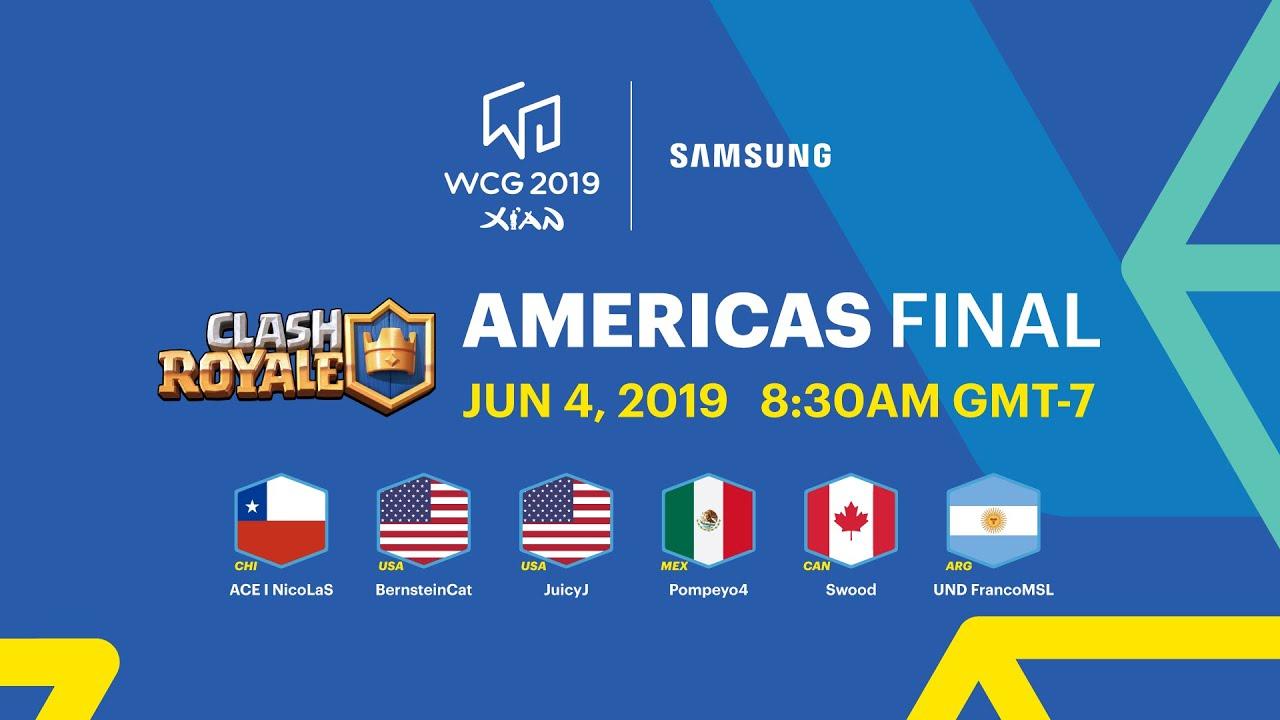 [ENG] WCG 2019 Xi'an - Clash Royale Americas Final (2019-06-04)