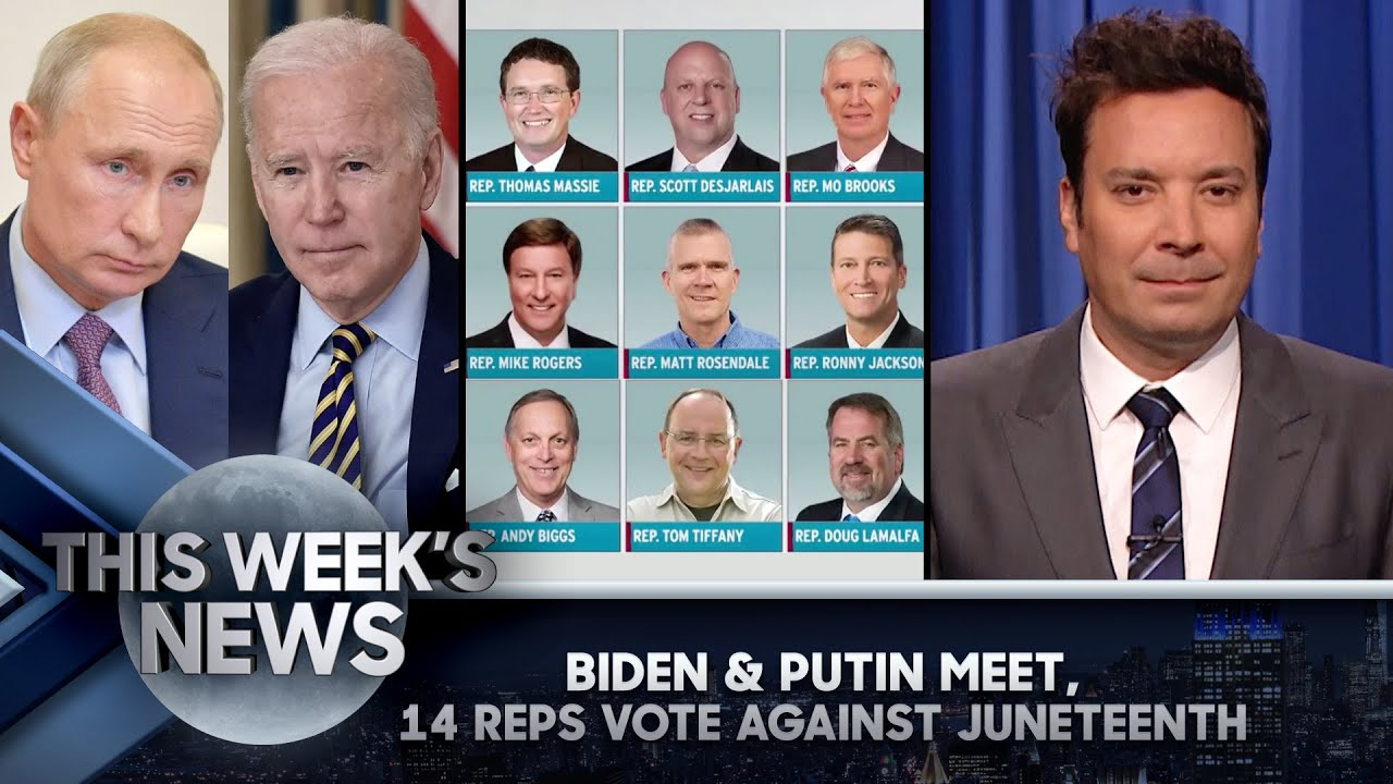 Biden and Putin's First Meeting, Republicans Vote No on Juneteenth Holiday: This Week's News