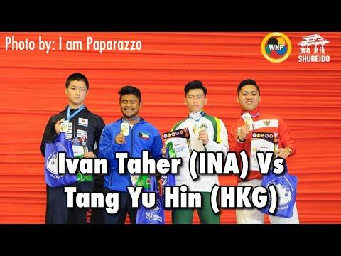 Ivan Taher (INA) Vs Tang Yu Hin (HKG)  - AKF Championship 2019 - Kata Individu Male Junior