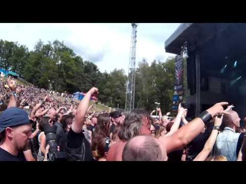 Crematory - Ravens Calling (Metalfest Plzeň - 4.6.2016)