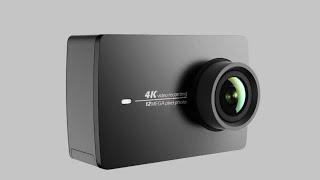 Cara Memasang Waterproof case ke Monopod yi cam Action Camera
