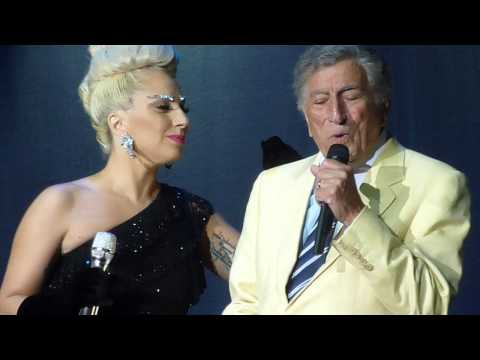 HQ Lady Gaga And Tony Bennett I Won't Dance Live In Ghent
