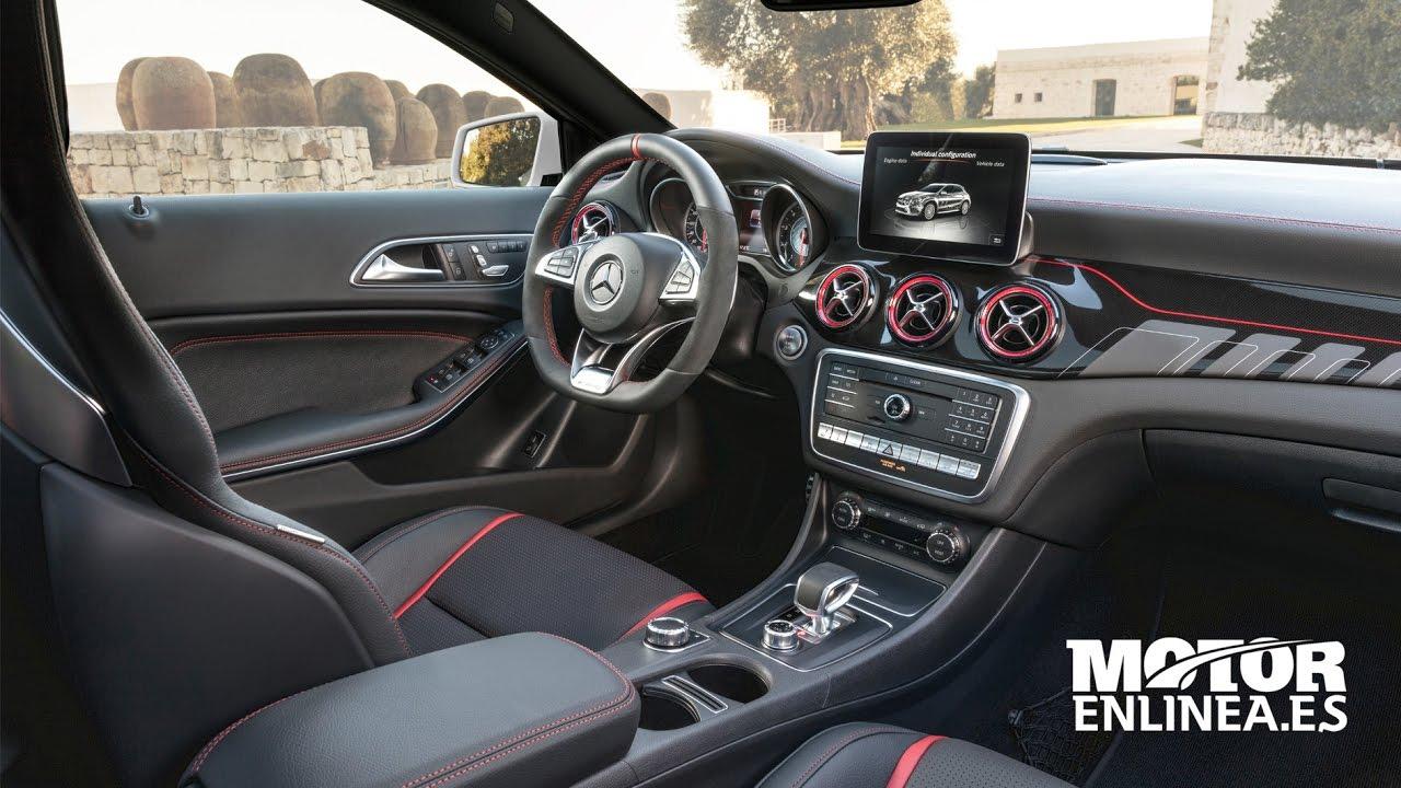 Mercedes Benz Gla A45 Amg 2017 Interior Youtube