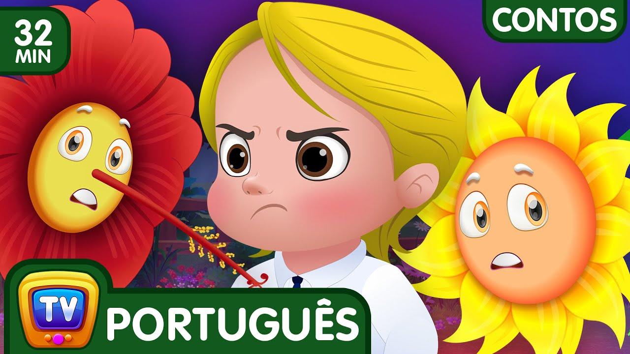 Pinky, A Orgulhosa Petunia (Coleção) - Histórias De Ninar ChuChu TV Contos Infantis