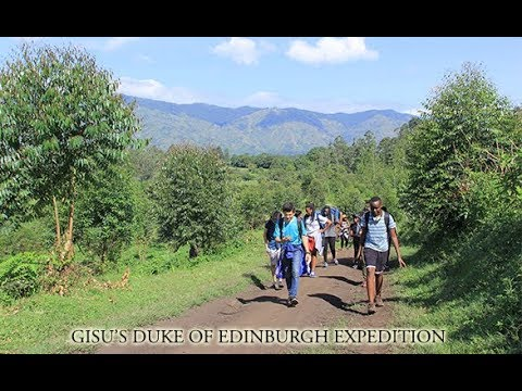 GISU'S DUKE OF EDINBURGH EXPEDITION TRAILER
