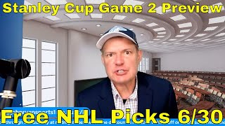 NHL Picks and Predictions | Montreal Canadiens vs Tampa Bay Lightning Stanley Cup Game 2 Preview