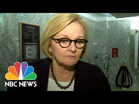 Sen. Claire McCaskill Avoided Elevators As An Intern In Congress To Avoid Sexual Advances | NBC News
