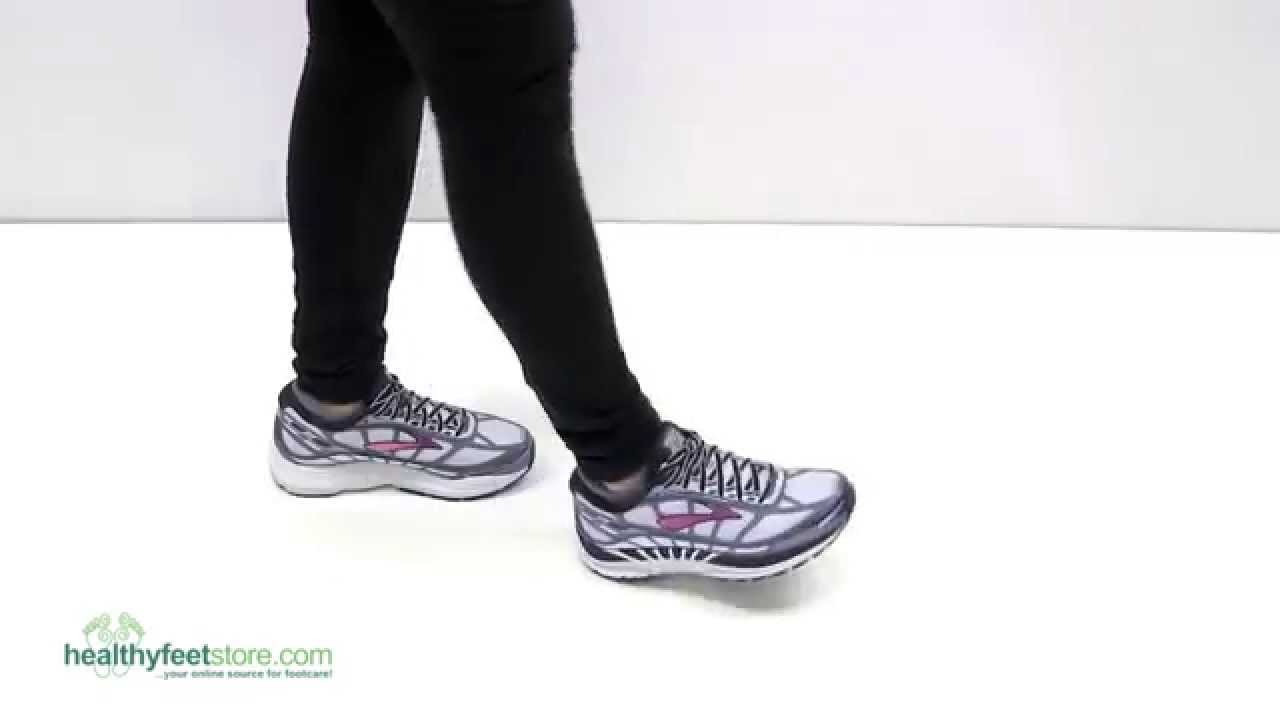 d2d3dc3b790 Brooks Dyad 8 Women s Athletic Shoes - YouTube