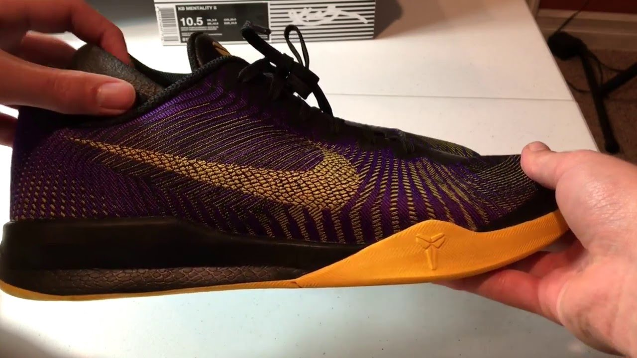 f237a4d75ca5 Kobe Mentality 2 - On Foot Reveiw - YouTube