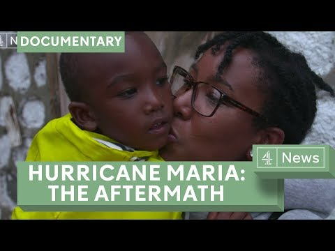 Hurricane Maria: Mother and son reunited in Dominica after storm