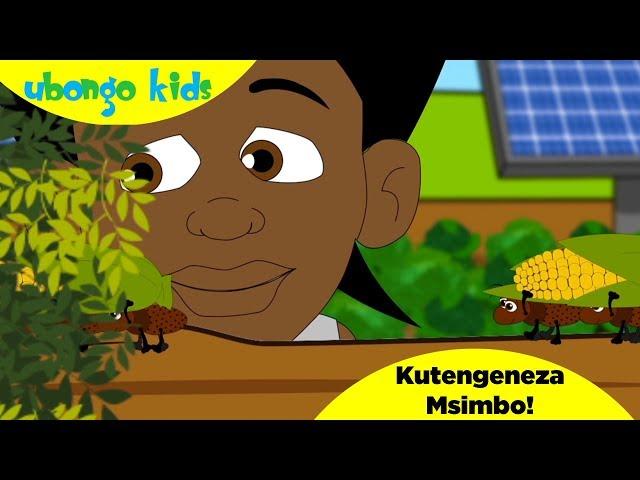 Ubongo Kids Webisode 49 - Kutengeneza Msimbo | Katuni za Elimu kwa Kiswahili