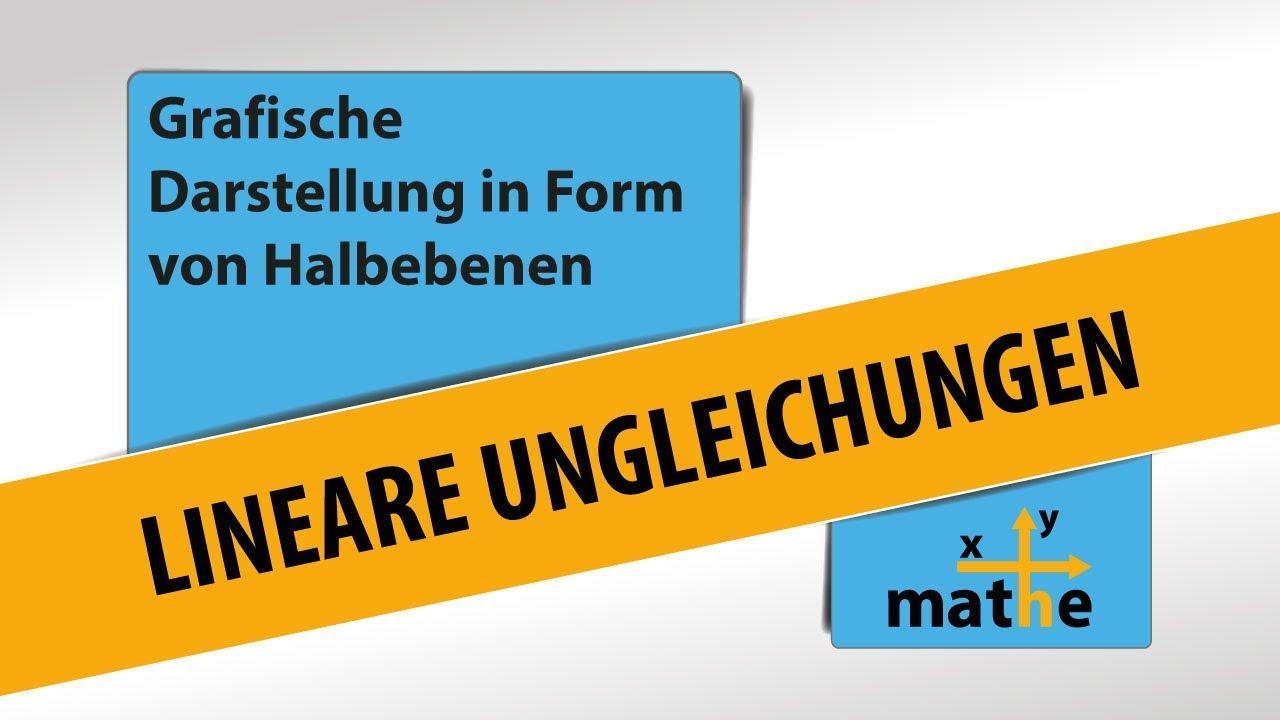 Beste Die Grafische Darstellung Linearen Ungleichungen Arbeitsblatt ...