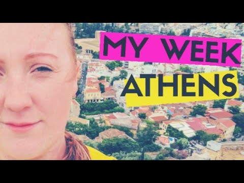 A Week in the life - 'This time, last year' ...Athens