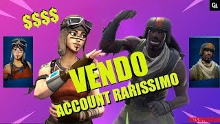 "VIEW/SCAMBIO ACCOUNT FORTNITE WITH RENEGADE, ASSAULT TROOPER, MAKO... ""RARISSIMO"""