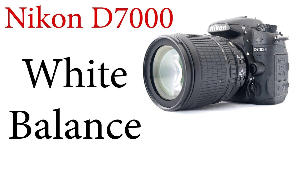 nikon d7000 how to use auto and custom white balance youtube rh youtube com Nikon D7000 Picture Quality set custom white balance d7000