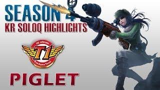 SKT T1 Piglet - Caitlyn vs Sivir - KR SoloQ Highlights
