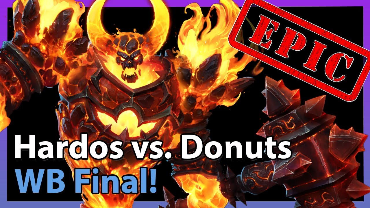 EPIC: Donuts vs. Hardos - WB Final - Heroes of the Storm 2021
