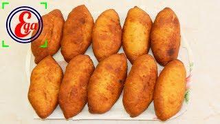 Это необыкновенно вкусные, ЖАРЕНЫЕ ПИРОЖКИ с нежной начинкой из КИТАЙСКОЙ КАПУСТЫ