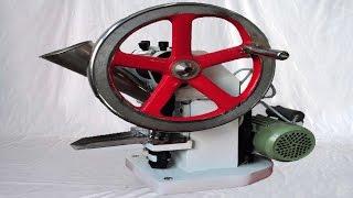Tablet making machine single punch press equipment olive granules maker  آلة صنع لوحة