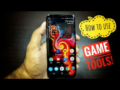 How to use Game tools feature on Samsung Galaxy S8!