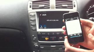 Lexus Wireless Music Streaming using Bluetooth A2DP thumbnail