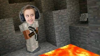 Minecraft Survival #03 - A Lava Perdida