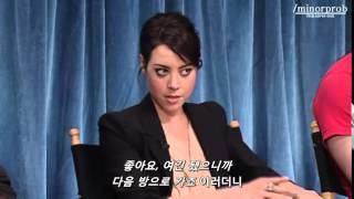 Aubrey Plaza vs Joe Biden (Korean sub)