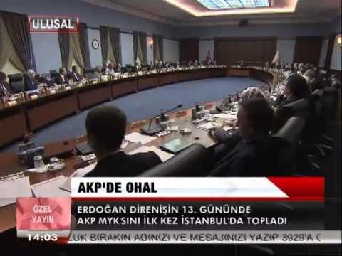 AKP'DE OHAL