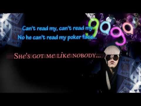 Lady Gaga - Poker Face (Karaoke/Instrumental)