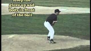 Baseball Infield Drills - Fielding For Pitchers